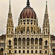 Hungarian Parliment Building Art Print