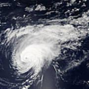 Hurricane Gordon Over The Atlantic Art Print
