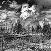 Hurricane Isaac Clouds Art Print