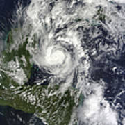 Hurricane Paula Art Print
