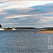 Hyannisport At Sunset Art Print