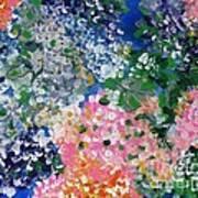 Hydrangeas I Art Print
