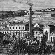 Hydroelectric Power, 19th Century Art Print