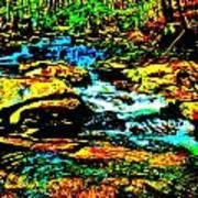 Hyper Childs Brook Z 57 Art Print