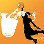 I Can Dunk Art Print by Laura Brightwood