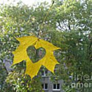 I Love Autumn 02 Art Print