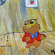 I Love To Singa... Art Print
