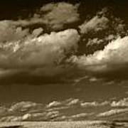 I Really Don't Know Clouds At All Art Print