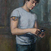 Ian 2009 Art Print