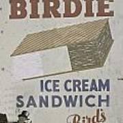 Ice Cream Sandwich Art Print