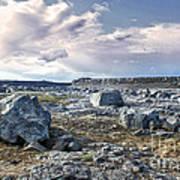 Iceland Barren Landscape - 02 Art Print