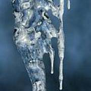 Icicle Formation Art Print