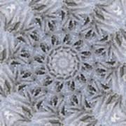 Icy Mandala 3 Art Print