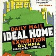 Ideal Home Exhibition Stamp, 1920 Art Print