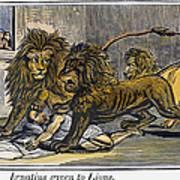 Ignatius Of Antioch (c35-110) Art Print