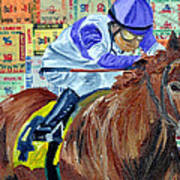 I'll Have Another Wins Art Print
