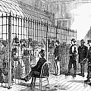 Illegal Voters, 1876 Art Print