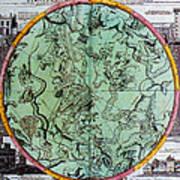 Illustration From Atlas Coelestis Art Print