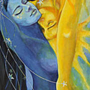 Ilusion From Impossible Love Series Art Print by Dorina  Costras