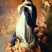 Immaculate Conception Of The Escorial Art Print