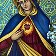Immaculate Heart Art Print