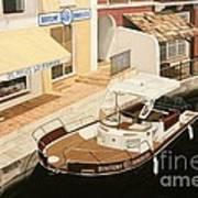 Immobilier Art Print by Carina Mascarelli