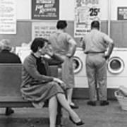 Impatient Washers Art Print by Winfield J. Parks Jr.