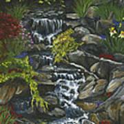 In A Country Garden Art Print