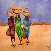 in Darfur 2 Art Print by Negoud Dahab
