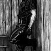 In Dark Alleys Art Print by Brent  Marr