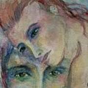 In His Eyes... Art Print