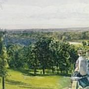 In Richmond Park Art Print