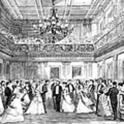 Inaugural Ball, 1869 Art Print