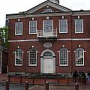 Independence Hall Philadelphia I Art Print