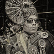 India Day Parade Nyc 8 19 12 Art Print