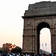 India Gate Milieu Art Print