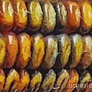 Indian Corn Art Print