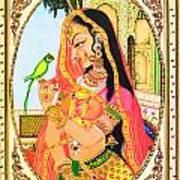 Indian Empress Art Print