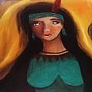Indian Girlfriend Art Print