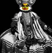 Indian Kathakali Dance Art Print