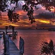 Indian River Sunset Art Print