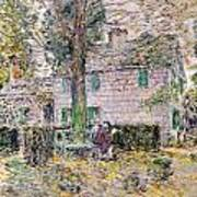 Indian Summer In Colonial Days Art Print by Childe Hassam