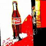 Indonesian Coke Ad Art Print by Funkpix Photo Hunter