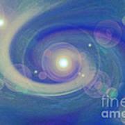 Infinity Blue Art Print
