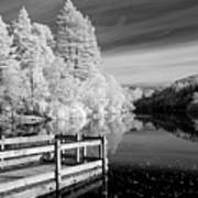 Infrared Glencoe Lochan Art Print by Billy Currie Photography
