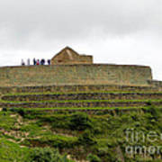 Ingapirca Inca Ruins   Ecuador Art Print