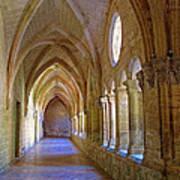 Inside A Monastery  Art Print