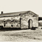 Inside Fort Mifflin - Phildalphia Art Print