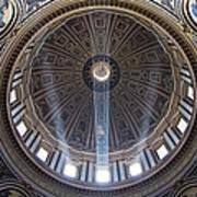 Inside St. Peter's Basicilia Art Print
