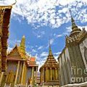Inside The Grand Palace Bangkok Art Print